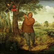 Pieter Bruegel, De boer en de nestrover, (1568, paneel, 59,3×68,3 cm)