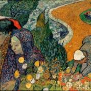 Herinnering aan de tuin in Etten | Van Gogh | Olieverf op linnen, 73,5 x 92,5 cm